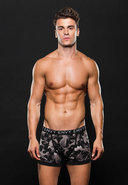 Logo Elastic Boxer Brief M/l Gray Camo