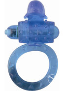 Ring Of Xtasy Dolphin Series Blue Silicone