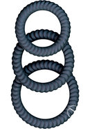 Ram Ultra Cocksweller Silicone Cock Rings Waterproof Black