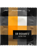 Sir Richards Ultra Thin Latex Condoms 12 Each Per Pack
