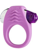 Mae B Lovely Vibes Stylish Soft Touch C-ring Silicone Purple