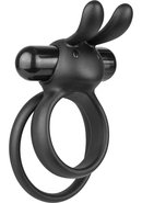 Ohare Xl Silicone Wearable Rabbit Vibe Cockring Waterproof...