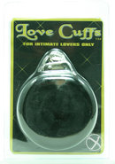 Furry Love Cuffs Black