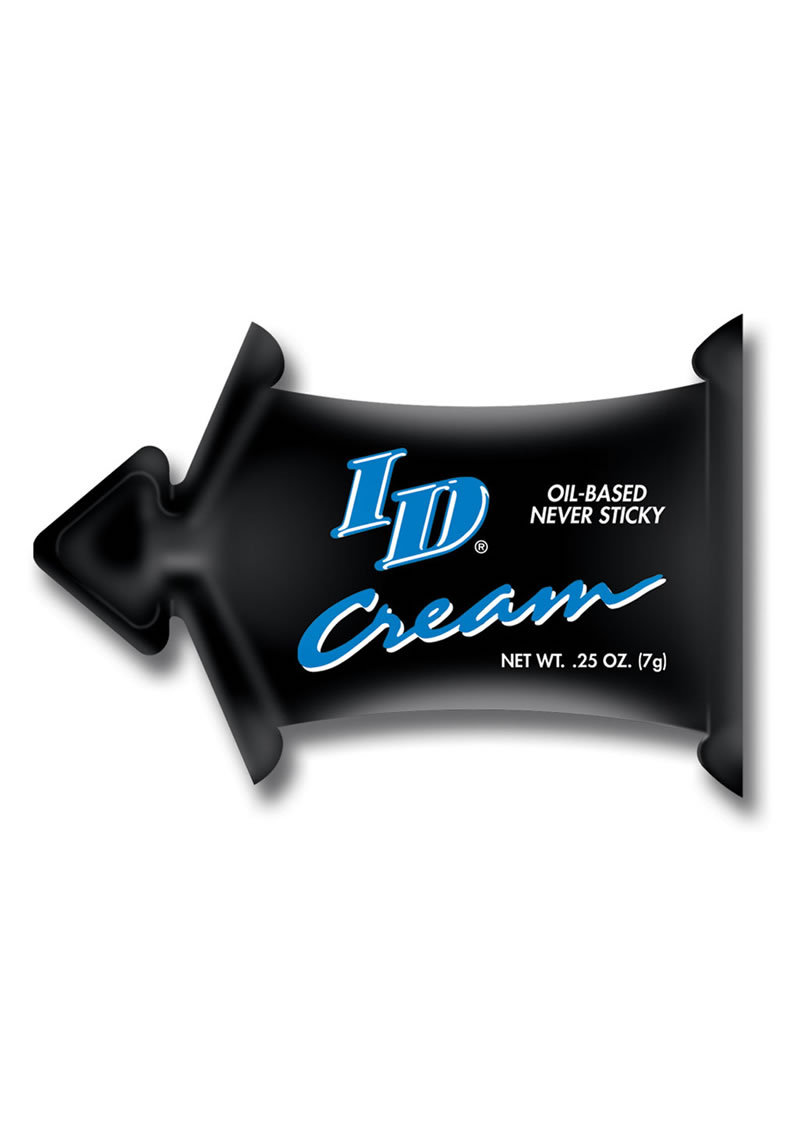 Id Cream Oil Based Pillow Pack .25 Ounce Bulk
